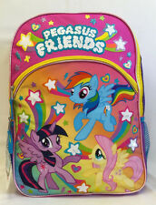 """My Little Pony 16"""" Light Up Large Backpack Back to School girls kids Books New"""