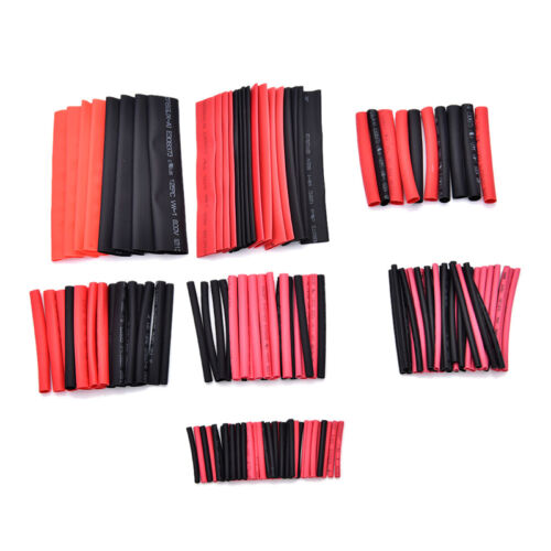 150pcs 2:1 Polyolefin Heat Shrink Tubing Tube Sleeving Wrap Wire Kit CableA*