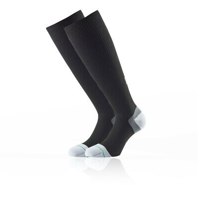 GroßZüGig 1000 Mile Unisex Compression Socks - Twin Pack Black Sports Running Breathable Delikatessen Von Allen Geliebt