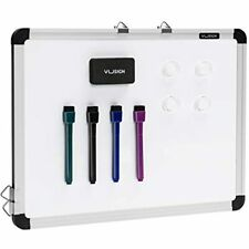 Vusign Small Dry Erase White Board 12ampquot X 16ampquot Magnetic Hanging For Wall