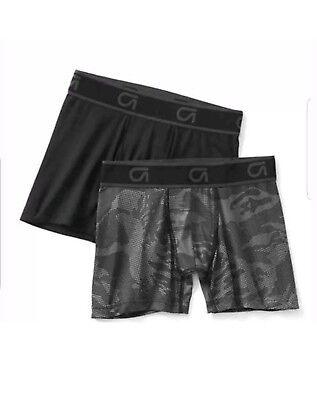 Boys Kids GAP FIT Performance Trunks Boxer Briefs Underwear 2 Pair XS 4 5