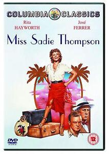 Perdere-Sadie-Thompson-1953-Rita-Hayworth-Jose-Ferrer-Sony-UK-2005-Regione-2-DVD