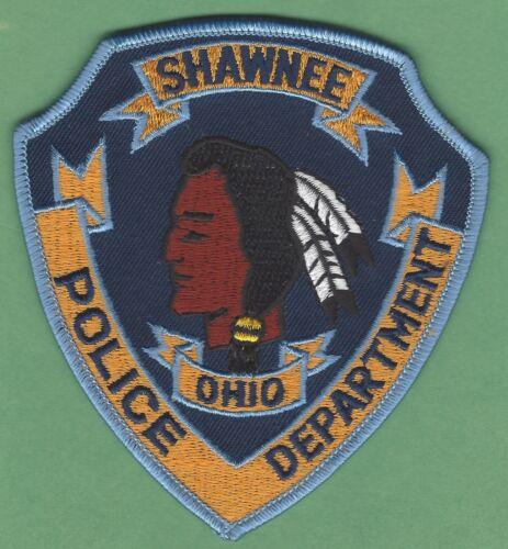 SHAWNEE OHIO POLICE SHOULDER PATCH