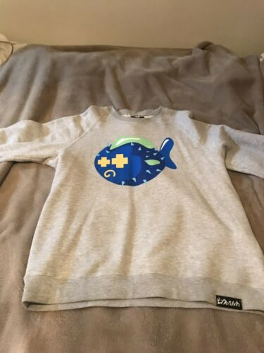 L Puff heren Fish voor Sweater Dolphin Pink KCawYq6Fq