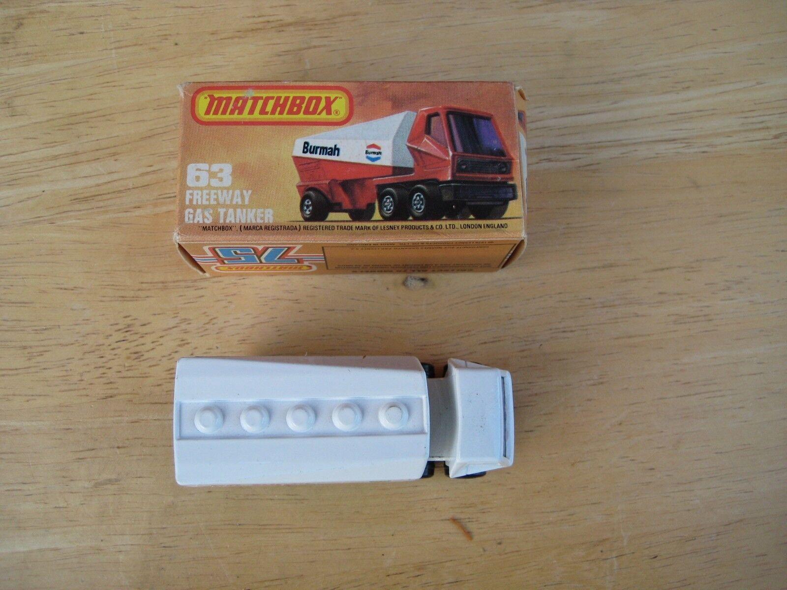 Matchbox Matchbox Matchbox superfast nr. 63, autobahn gas - tanker bp 94b544