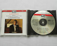 MOZART Piano Concertos 21 & 23 - J. FRANTZ/C.P. FLOR GERMANY CD EURODISC (1990)