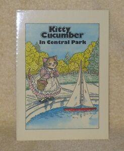 Rara Vintage Kitty Pepino En Central Park Libro 8 Por 5 1 2 Ebay