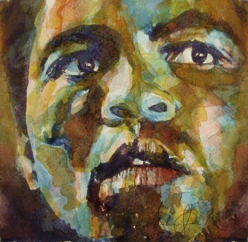 "XXL LEINWAND BILD /""Muhammad Ali/"" BIS 100x100x5 WANDBILD MODERN ABSTRAKT GEMÄLDE"