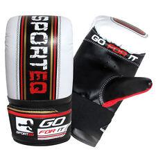 Sporteq Punchbag Gloves, Boxing Bag Workout, MMA Training, Bag Mitts.