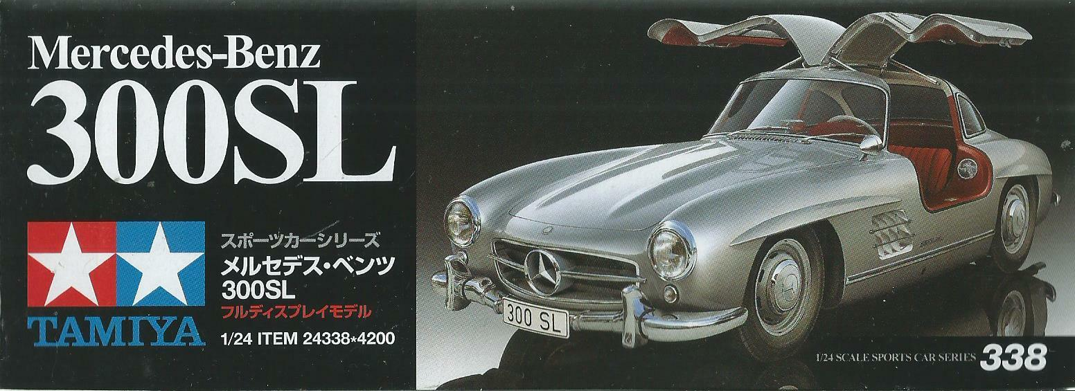 KIT TAMIYA 1 24 AUTO DA MONTARE E ColoreeARE MERCEDES BENZ 300SL  ART 24338