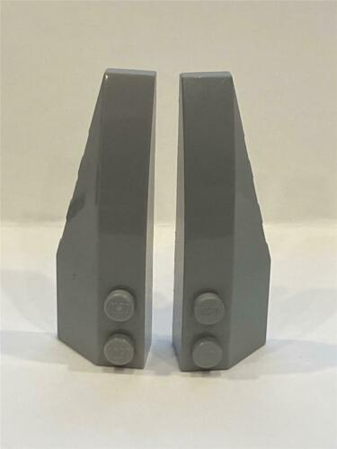 41747 41748 LEGO Parts~Wedge 6 x 2 Double Right//Left LT BL GRAY