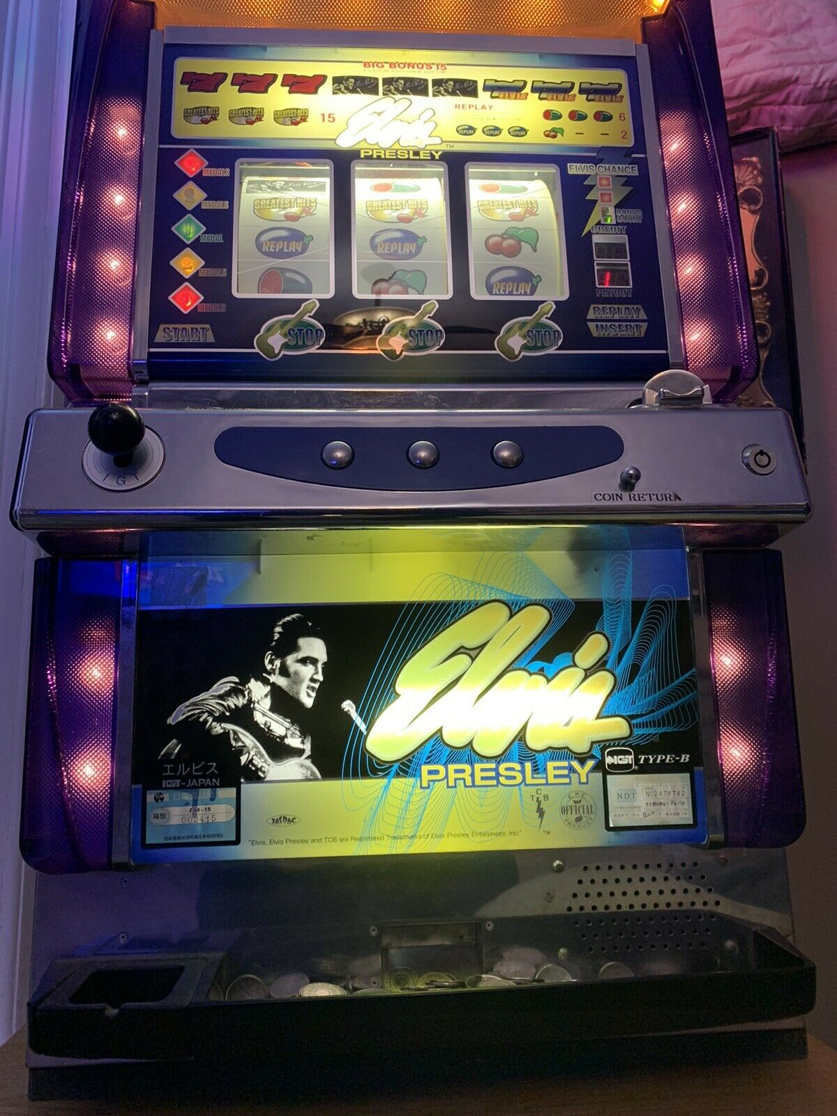 igt elvis slot machine
