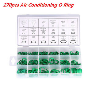 270× A//C System O-Ring Gasket Seals Washer Rapid Seal Car Compressor Repair Kit