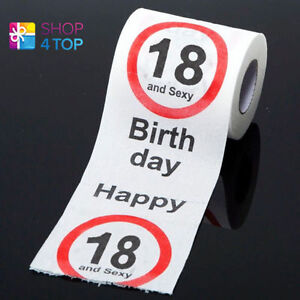 HAPPY-BIRTHDAY-18-UND-SEXY-TOILETTENPAPER-ROLL-LUSTIG-NEUHEIT-GESCHENK-IDEE