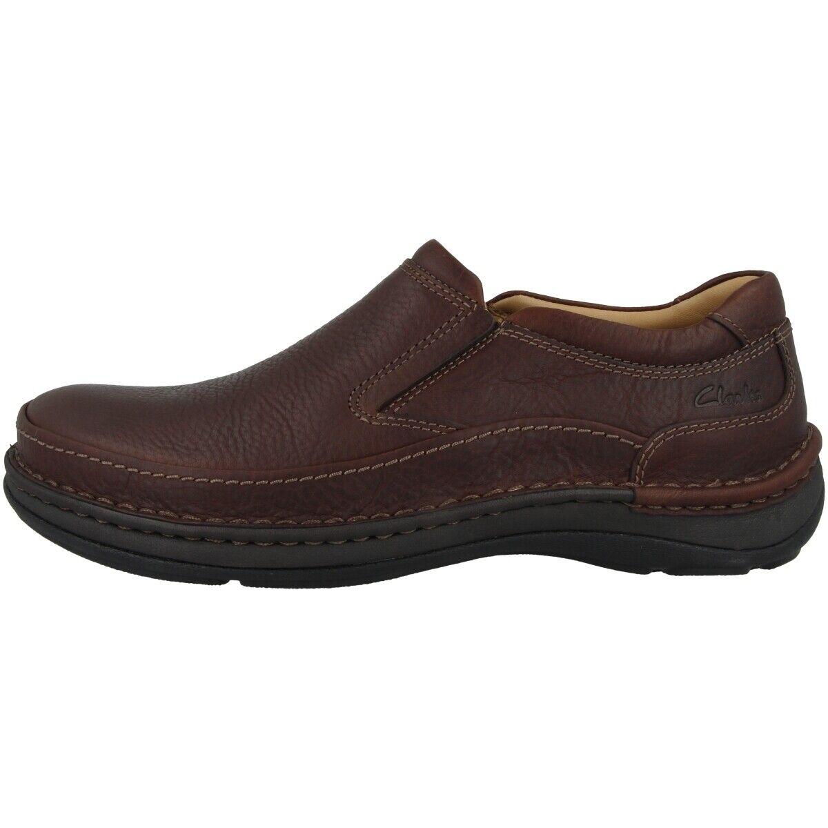 Clarks Nature Easy Herren Slipper verschiedene Farben Loafer Mokkasin
