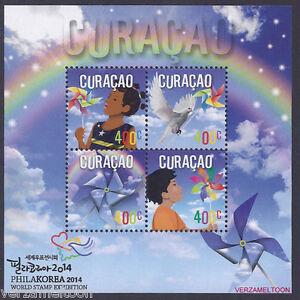 CURACAO-2014-NVPH-224-WORLD-STAMP-EXPO-PHILAKOREA-2014-blok-postfris