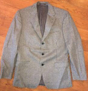Ermenegildo Zegna Z Mens City Herringbone Sport Coat