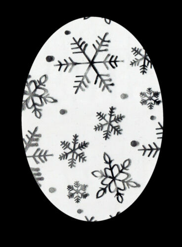 SILVER SNOWFLAKE Iron//Sew On Knee//Elbow//Applique//Patch//Crafts//Kids//Scrapbooking