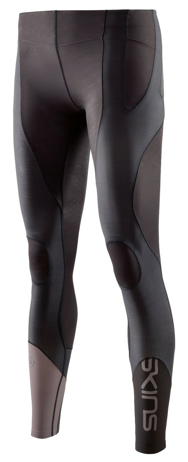 Skins K-Proprium Womens Long Tights Compression Leggings- Espresso