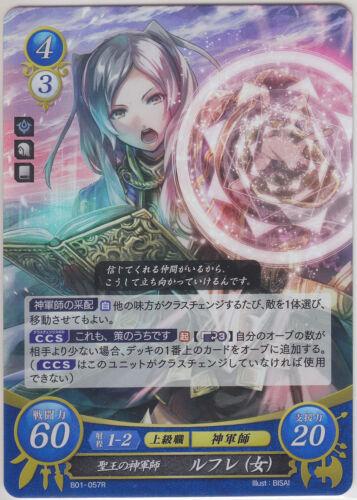 Robin female Fire Emblem 0 Cipher TCG Booster Part 1 Reflet R B01-057 JP
