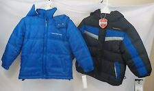 Lot-2 NEW NWT Boys Coats Calvin Klein Size 4T 4 Toddler Winter Bubble Jacket