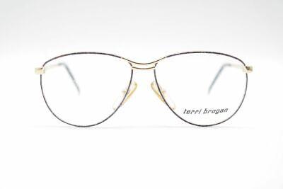 Aus Dem Ausland Importiert Vintage Terri Brogan 8892 53[]12 130 Gold Grau Oval Brille Eyeglasses Nos