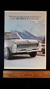 1966-CHEV-Chevy-II-Original-Dealer-Sales-Brochure-Very-Good-Condition-US