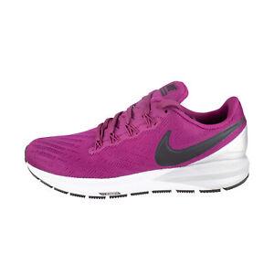 Nike-Air-Zoom-Structure-22-Women-beere-berry-silber-Stabil-Laufschuhe-AA1640-602