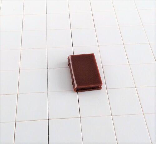1 Buch 2x3 Minifig-Zubehör alt braun 5804 33009 x4 # Lego