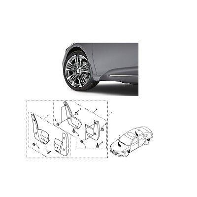 2018-2019 Genuine Honda Accord Splash Guards Mud Guards NEW 08P00-TVA-100A OEM