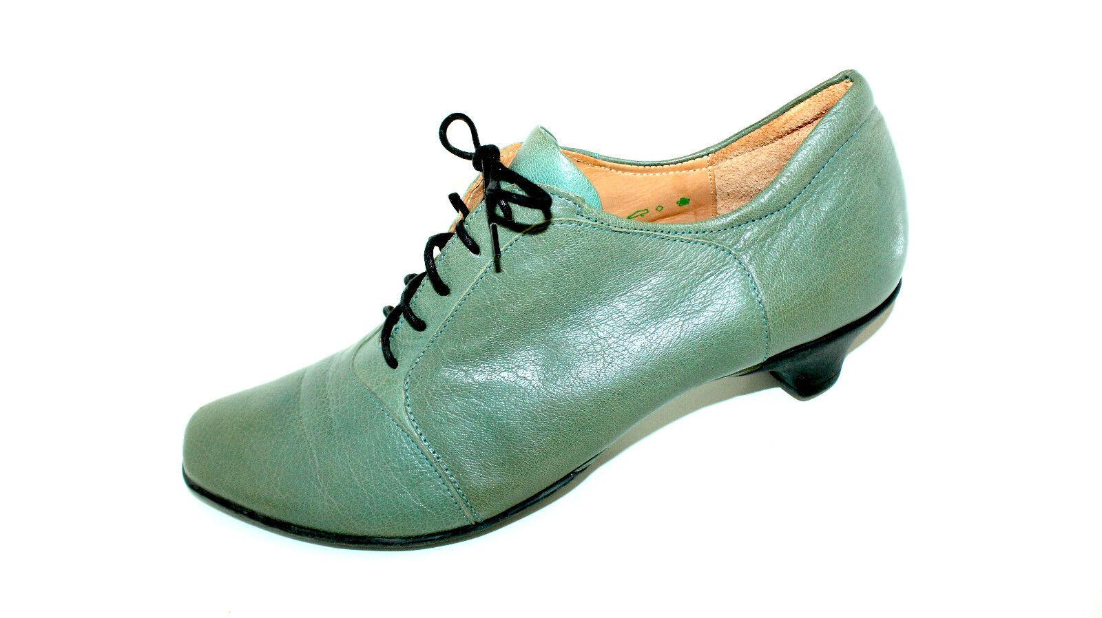 Think  hochfront Escarpins lacets à moitié Chaussures 43 UK 9 cuir en vrac dépôts doux