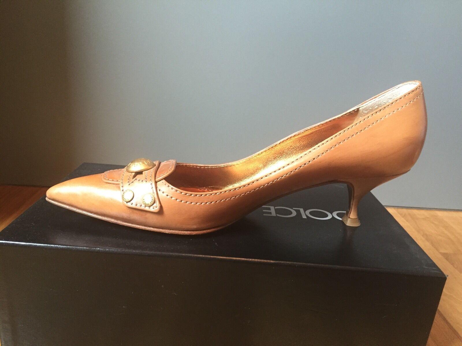 D&G Dolce&Gabbana 41 Pumps, Cognac, Gr. 41 Dolce&Gabbana 07ff2c