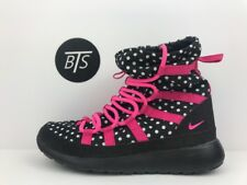 1143bf64c80aa item 4 YOUTH Nike Roshe One High Print (GS) Size-4.5Y Black Pink Dots (807744  001) -YOUTH Nike Roshe One High Print (GS) Size-4.5Y Black Pink Dots (807744  ...