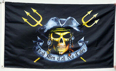 3x5 Jolly Roger Pirate Pirates For Hire Red Flag 3/'x5/' Banner