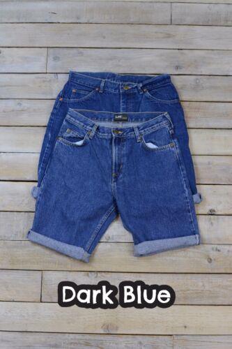 Da uomo vintage Lee Pantaloncini Di Jeans vari colori