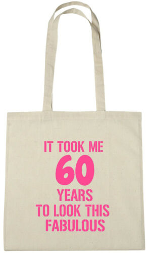 It Took Me 60 Fab Bag 60th birthday gifts presents for 60 year old women wife