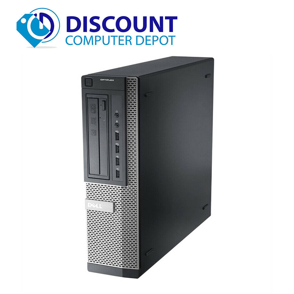 Fast Dell Core Optiplex i3 Windows 10 Desktop Desktop Desktop Computer 3.2GHz PC 4GB 250GB Wifi 5737e0