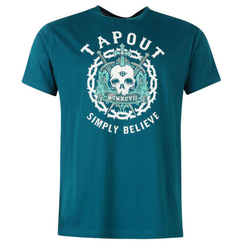 S M L XL 2XL Tee MMA UFC Mixed Martial neu Tapout PRINT T-Shirt Gr