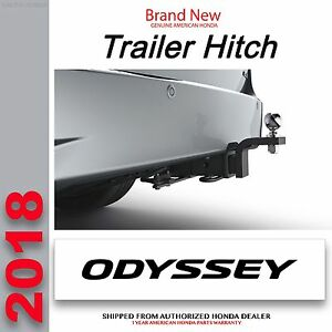 Image Is Loading Genuine OEM 2018 Honda ODYSSEY Trailer Hitch 08L92