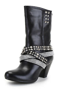 Ann Creek Women/'s /'Aero/' Rhinestone and Stud Boots
