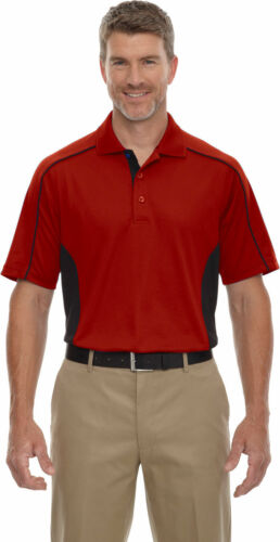 85113T Extreme Men/'s New Short Sleeve Moisture Wicks Polyester Polo Shirt Tee