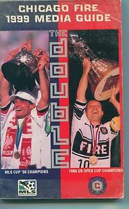 522424feddb CHICAGO FIRE 1999 MEDIA GUIDE   Chicago Fire s Championship 1998 ...