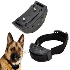 Humane Stop Dog Barking Collar Electric Anti Bark Pet Training Aid Control Shock