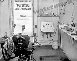 Photograph-S-B-Johnston-Vintage-Dentist-Office-Washington-DC-Year-1919-8x10
