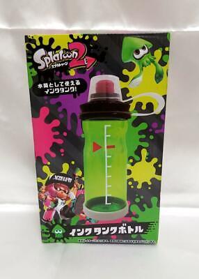 Splatoon 2 Ink Tank Bottle Water Bottle GREEN japan
