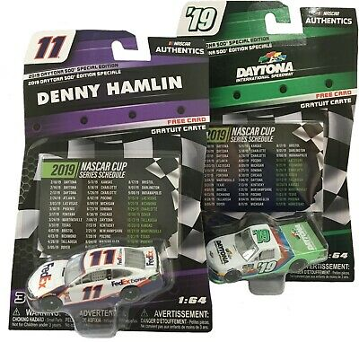 2019 NASCAR Authentics 1//64 DAYTONA 500 WINNER SPECIAL EDITION DENNY HAMLIN #11