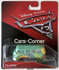 Disney Pixar Cars 3 Fillmore de la eco hippie de Radiador Springs mattel 2016 OVP