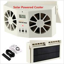 Car Solar Powered Auto Window Air Vent Ventilator Mini Air Conditioner Cool Fan