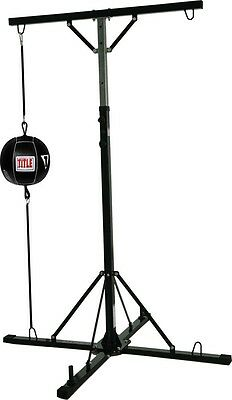 Title Double Trouble Heavy Bag Double End Stand
