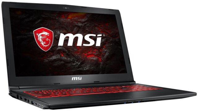 MSI GL62M 7REX-2439 i7-7700HQ und GTX1050Ti 8GB RAM  39.6 cm (15.6